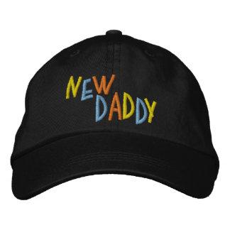 Nuevo papá gorro bordado