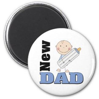 Nuevo papá imán redondo 5 cm