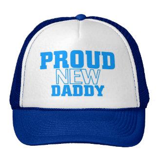 Nuevo papá orgulloso gorro