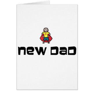 Nuevo papá tarjeta de felicitación