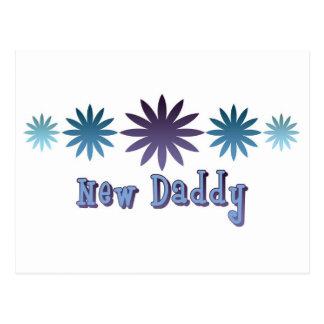 Nuevo papá tarjetas postales