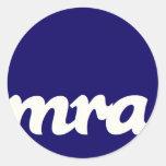 Nuevo pegatina del logotipo