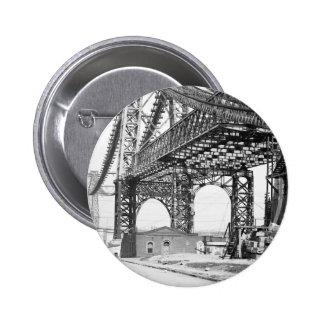 Nuevo puente Brooklyn Nueva York de East River Pin