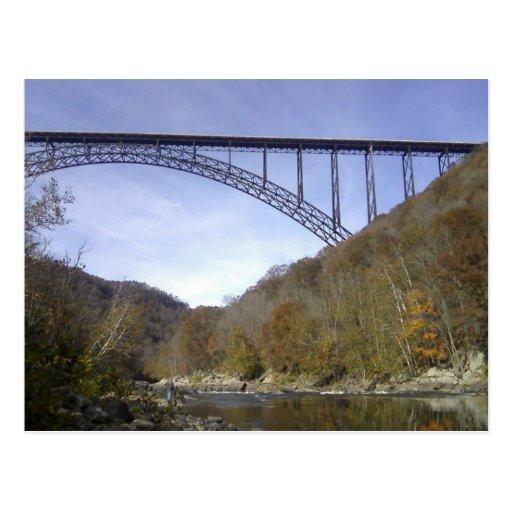 Nuevo puente de George del río Postales