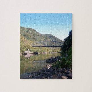 Nuevo puente viejo de George del río Puzzles