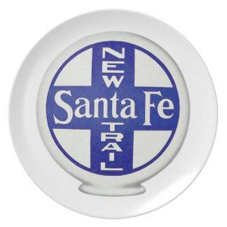 Nuevo rastro de Santa Fe - publicidad del vintage Plato De Comida