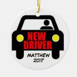 Nuevo recuerdo de la licencia de conductores ornato