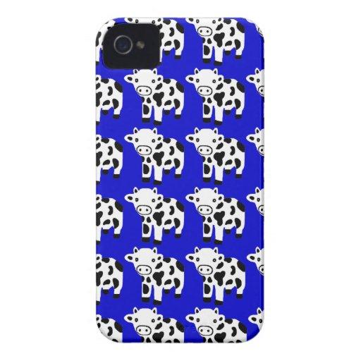 Nuevo regalo azul lindo del caso del iPhone de la iPhone 4 Protectores