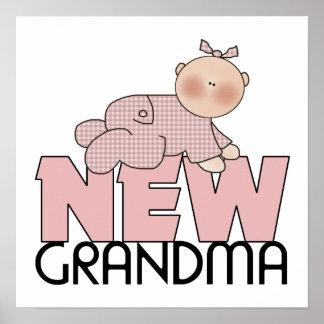 Nuevo regalo de la abuela posters