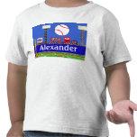 Nuevo regalo de la camiseta del diseñador del béis