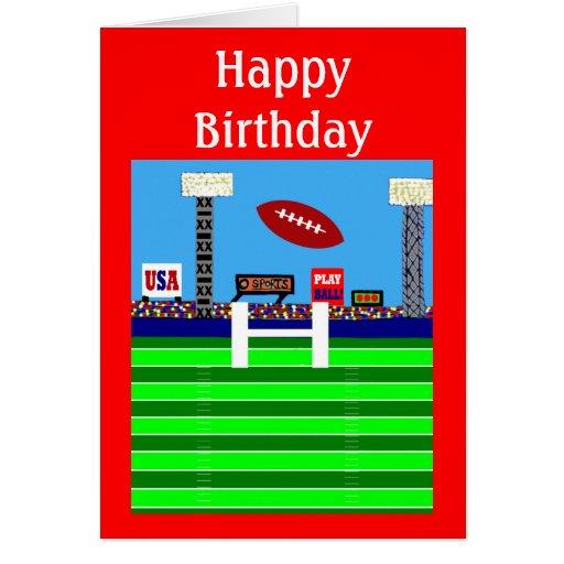 Nuevo regalo de la tarjeta del fiesta del feliz cu