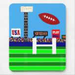 Nuevo regalo de Mousepad del fútbol de 2012 niños Alfombrillas De Ratones