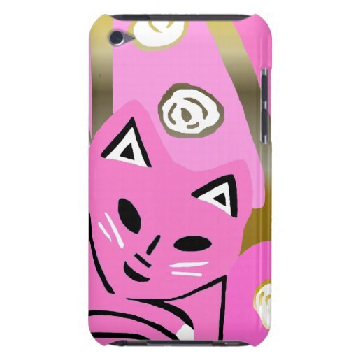 Nuevo regalo del arte del caso del rosa 2012 y del barely there iPod fundas