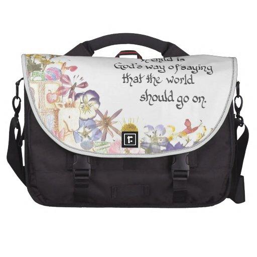 nuevo regalo del bebé bolsas para portátil