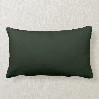 Nuevo regalo lumbar oscuro de la almohada de tiro