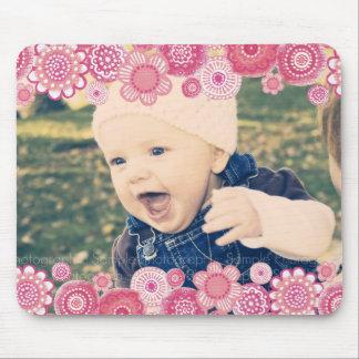 Nuevo regalo Mousepad del marco de la foto del beb Alfombrillas De Ratones