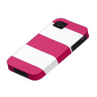 Nuevo regalo rosado y blanco bonito del caso del i vibe iPhone 4 carcasas