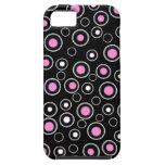 Nuevo regalo rosado y negro lindo del caso del iPh iPhone 5 Cárcasa