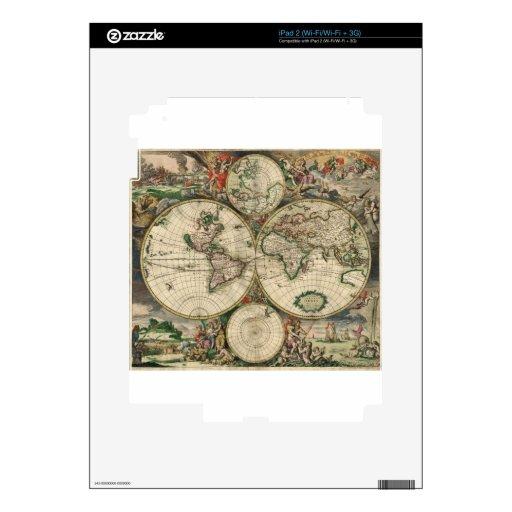 Nuevo reino - mapa del mundo skin para el iPad 2