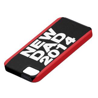 Nuevo rojo 2014 de LG del papá iPhone 5 Fundas
