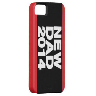 Nuevo rojo 2014 de LG del papá iPhone 5 Carcasa