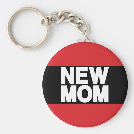 Nuevo rojo de LG de la mamá Llavero Redondo Tipo Pin