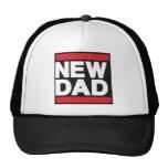 Nuevo rojo del papá gorra