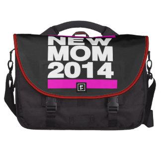 Nuevo rosa de la mamá 2014 bolsa de ordenador