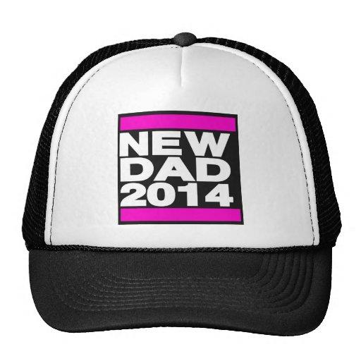 Nuevo rosa del papá 2014 gorro de camionero