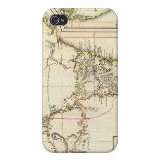 Nuevo S País de Gales, Land de Van Diemen iPhone 4 Protector