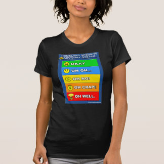 Nuevo sistema del Advisory de la seguridad de patr Camiseta