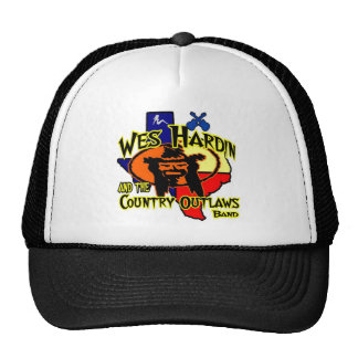 Nuevo Tex gorra del camionero del logotipo de Wes