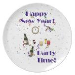 ¡Nuevo tiempo feliz del Año-Fiesta! Plato
