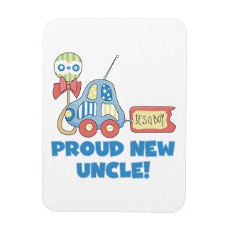 Nuevo tío orgulloso Car It es regalos de un muchac Imán