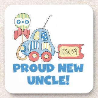 Nuevo tío orgulloso Car It es regalos de un muchac Posavasos De Bebidas