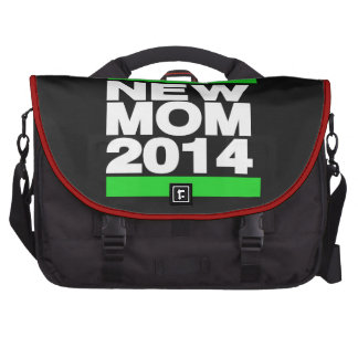 Nuevo verde de la mamá 2014 bolsas de portátil