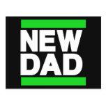 Nuevo verde del papá postal