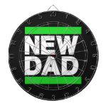 Nuevo verde del papá tablero dardos