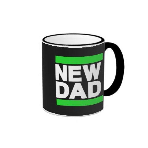 Nuevo verde del papá taza