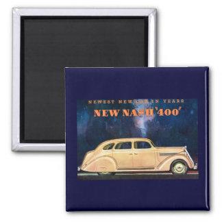 Nuevo vintage de Nash 400 - el nuevo coche más nue Iman De Nevera