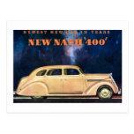 Nuevo vintage de Nash 400 - el nuevo coche más nue Tarjeta Postal