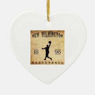 Nuevo Wilmington Pennsylvania baloncesto de 1898 Ornato