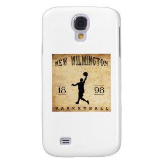 Nuevo Wilmington Pennsylvania baloncesto de 1898 Funda Para Galaxy S4