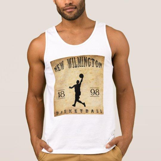 Nuevo Wilmington Pennsylvania baloncesto de 1898 Playera De Tirantes