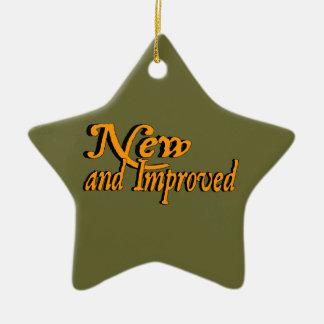 Nuevo y mejorado adorno de cerámica en forma de estrella