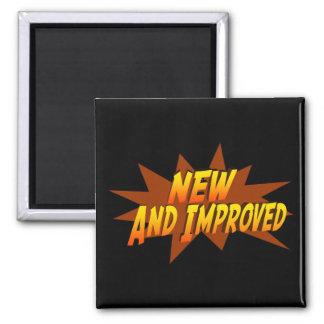 Nuevo y mejorado imán cuadrado
