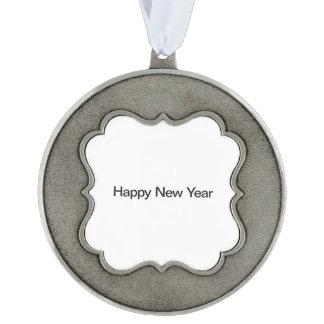 Nuevo Year.ai feliz Adorno Ondulado