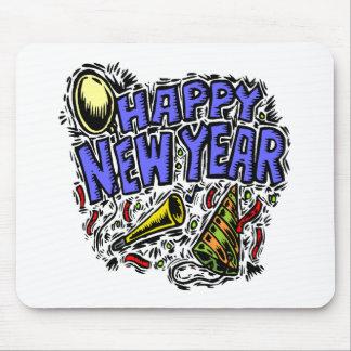 Nuevo Year' tiempo del fiesta de s Alfombrilla De Ratón