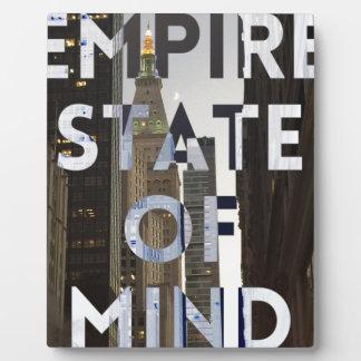 nuevo-York-ciudad-imperio-estado-de mind Placas Para Mostrar