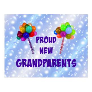 Nuevos abuelos orgullosos postales